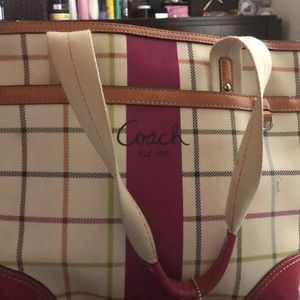 This colorful Coach Bag